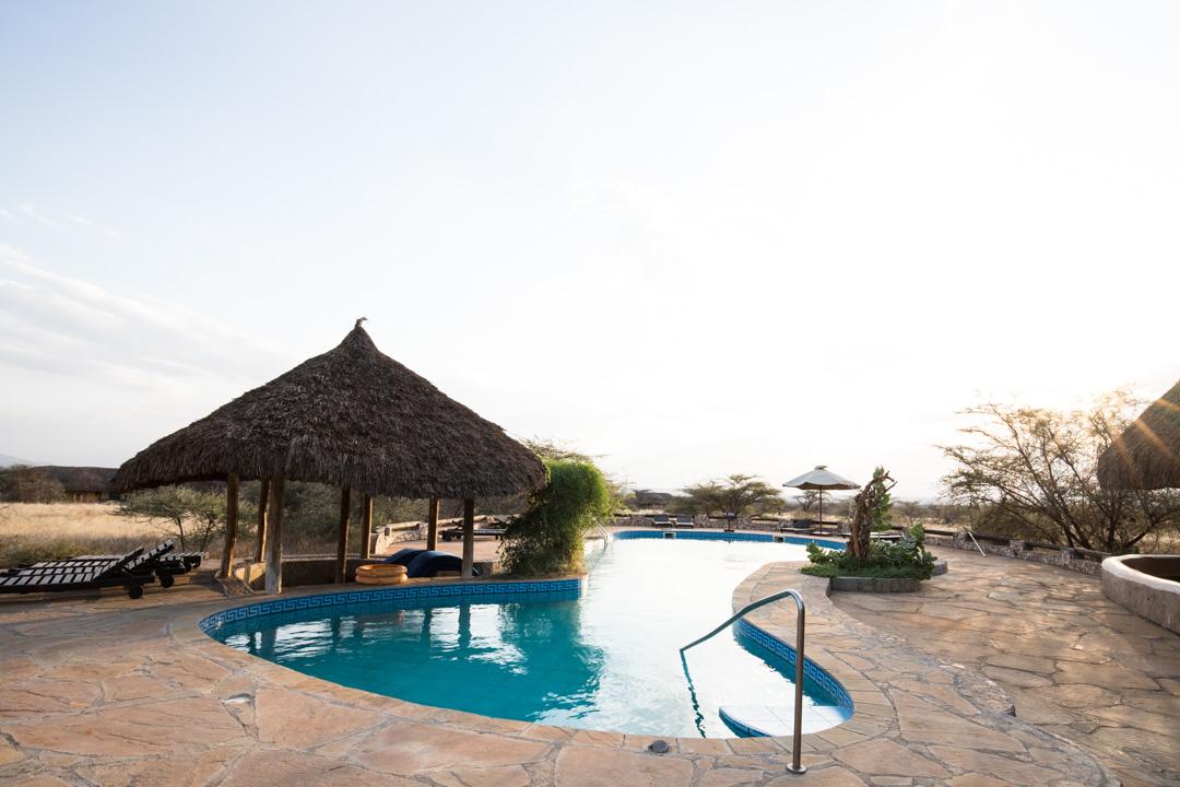 majapaikka Samburussa Keniassa