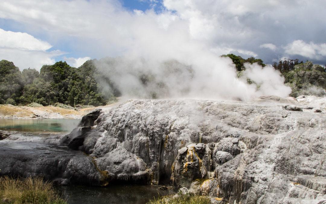 Rotorua – Te Puian henkeäsalpaavat maisemat