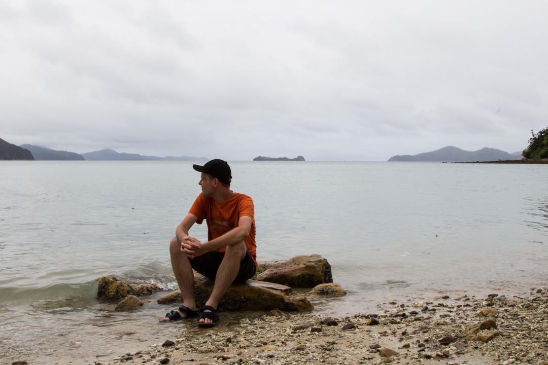 Whitsunday, Asutralia, Airlie Beach, Iso valliriutta