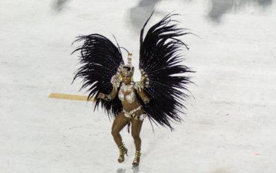 Sambakarnevaalien humua Rio de Janeirossa