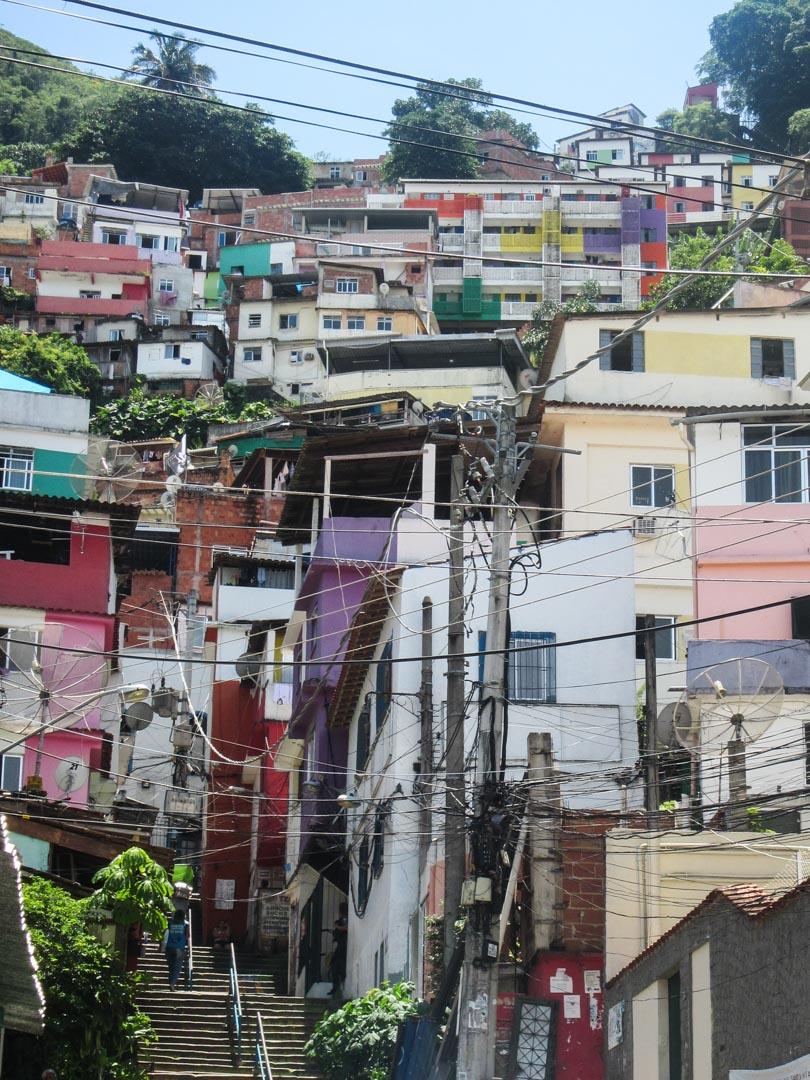 favela Santa Marta Rio de Janeirossa Brasiliassa