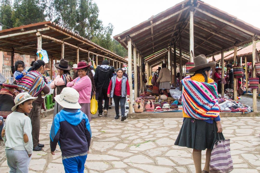 Chincheron markkinat Perussa