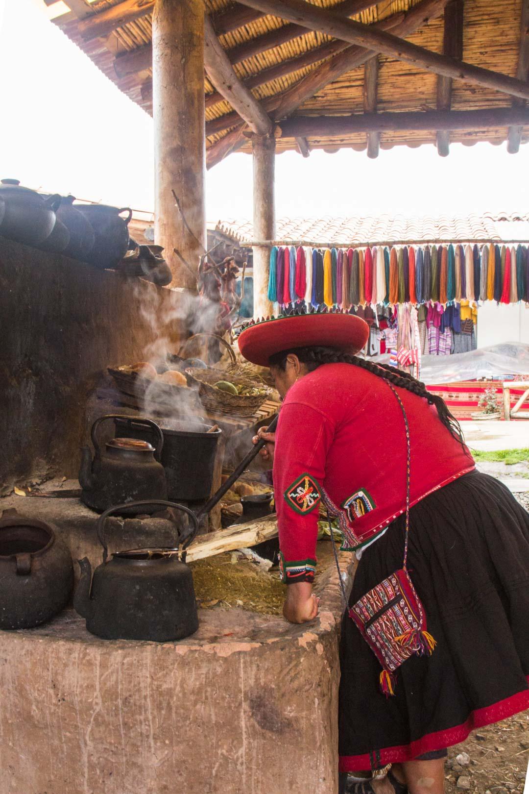 käsityöt Perussa, alpakka
