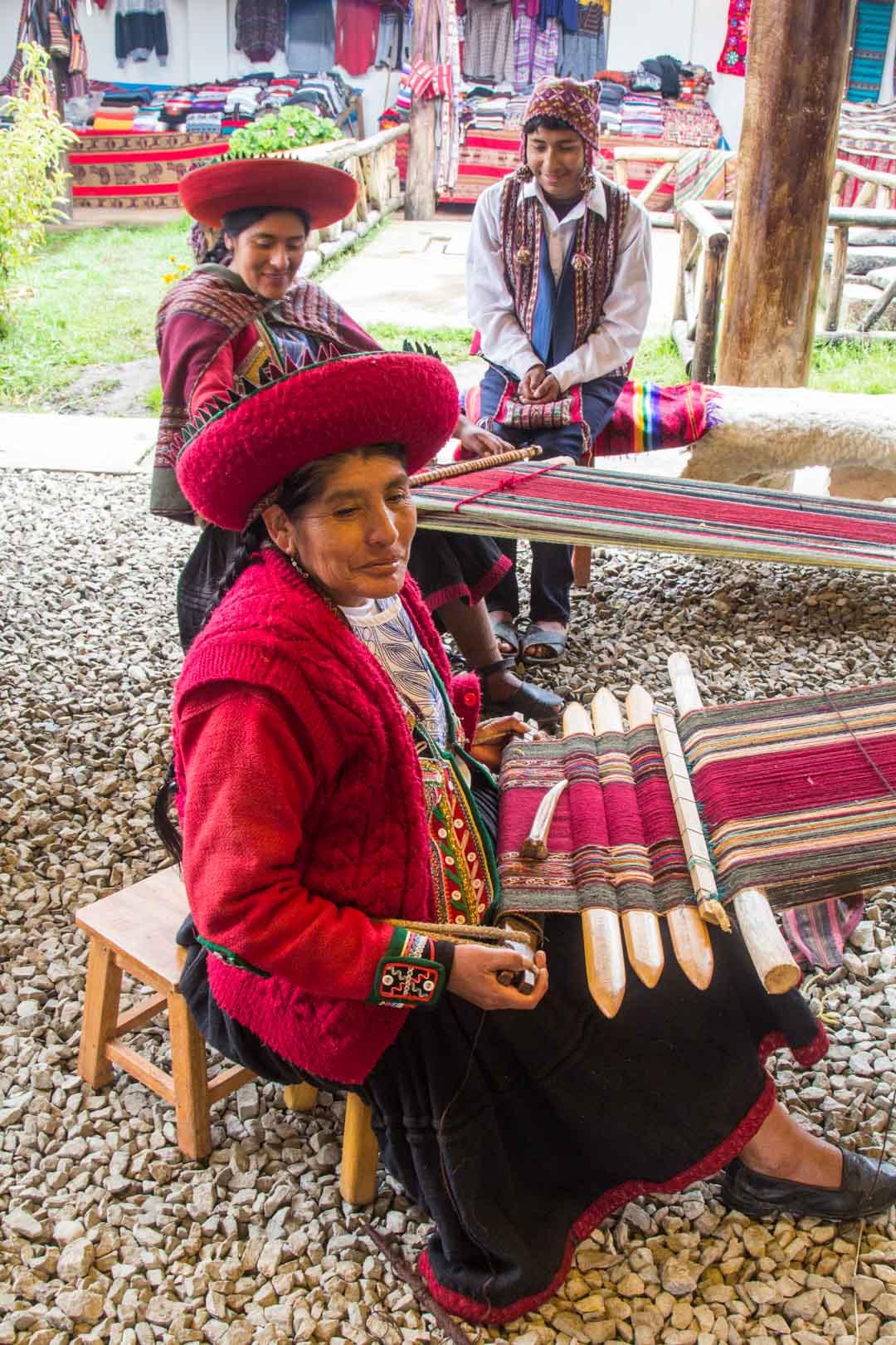 perinteisiä käsitöitä Perussa