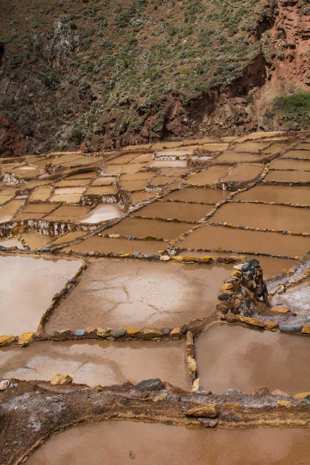 Marasin suola-altaat Perussa