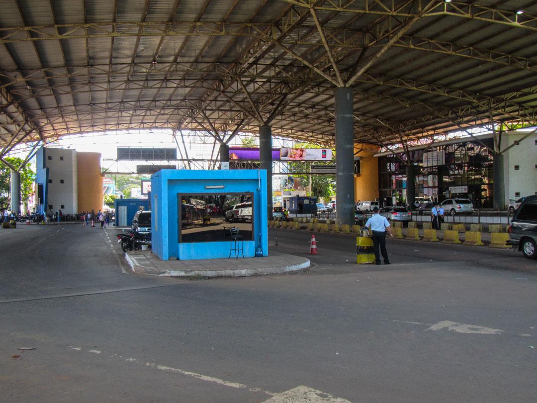 Paraguayn ja Brasilian raja, Ciudad del Este