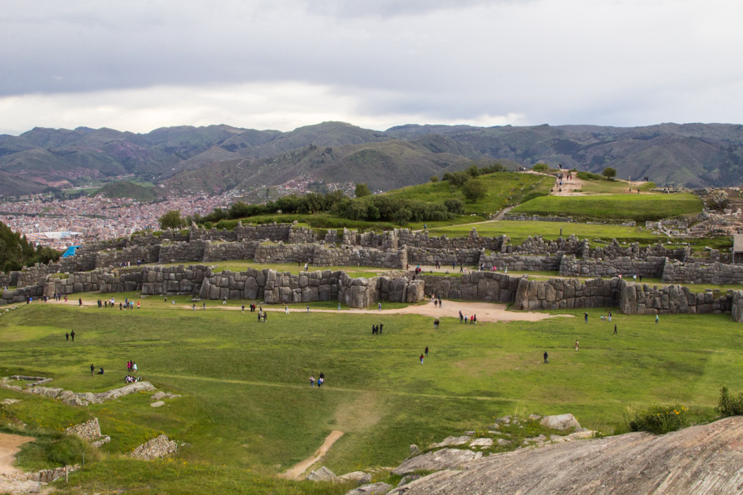 Saqsaywamanin inkarauniot Cuscossa Perussa