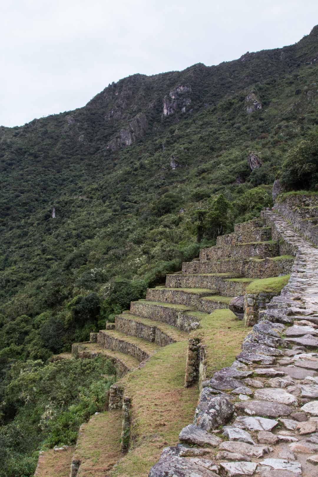 reitti Sun Gatelle Machu Picchulla Perussa