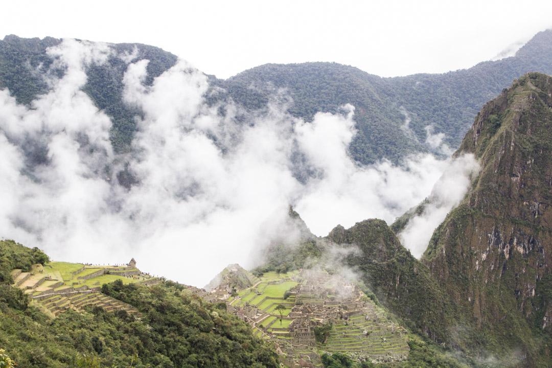 Machu Picchun rauniokaupunki