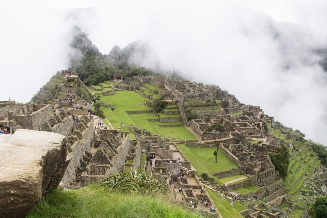 Machu Picchun inkakaupunki Perussa