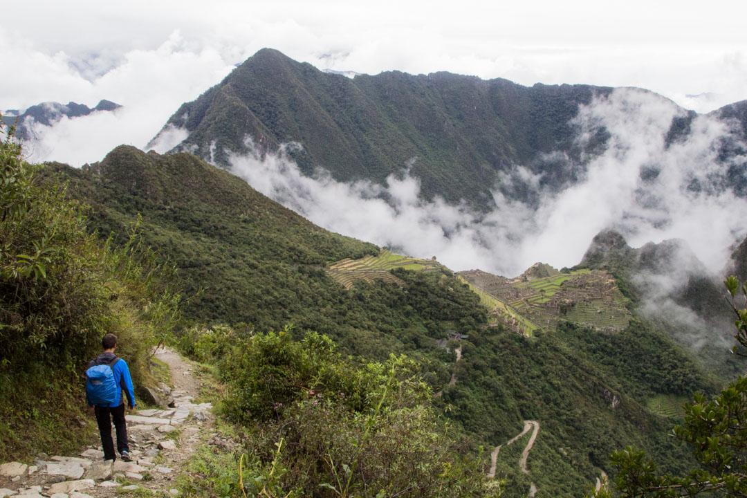 Sun Gatelta takaisin Machu Picchun raunioille