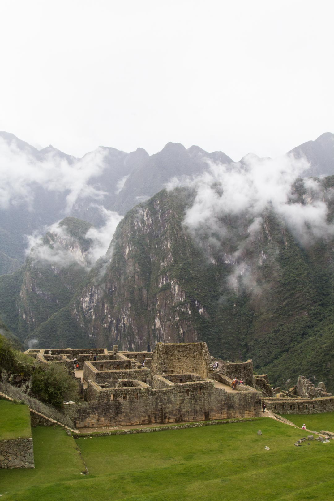 Machu Picchun inkarauniot