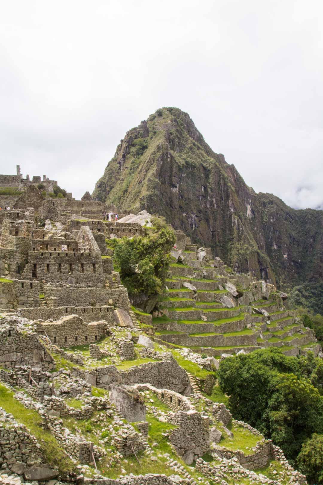 Machu Picchu ja Huayna Picchu