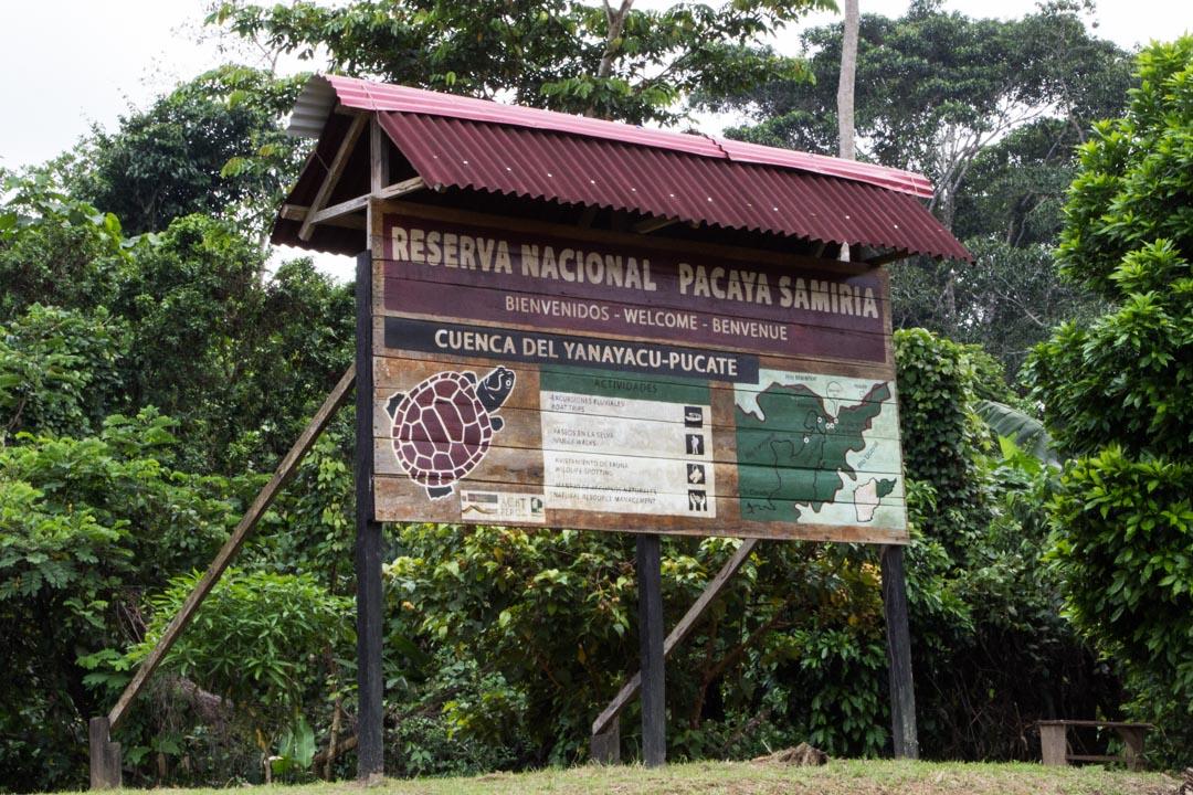 Pacaya Samiria National Reserven suojelualue