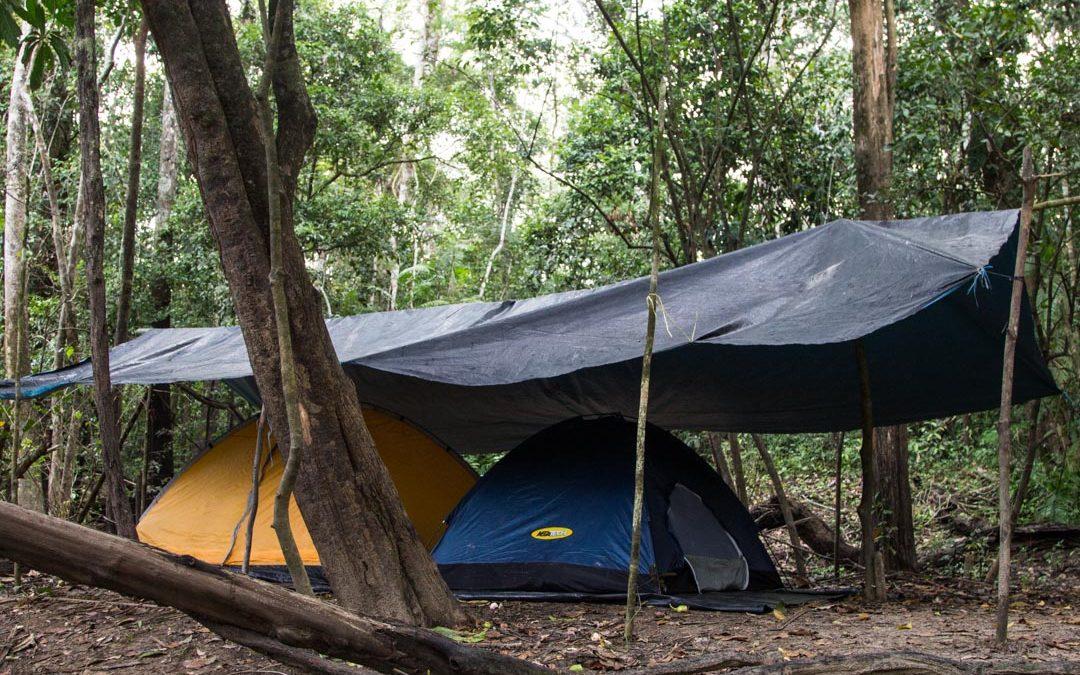 Teltan kanssa kohti Amazonin sademetsää