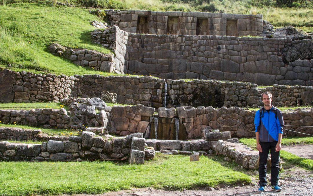 Retki Cuscon lähiympäristön rauniolle