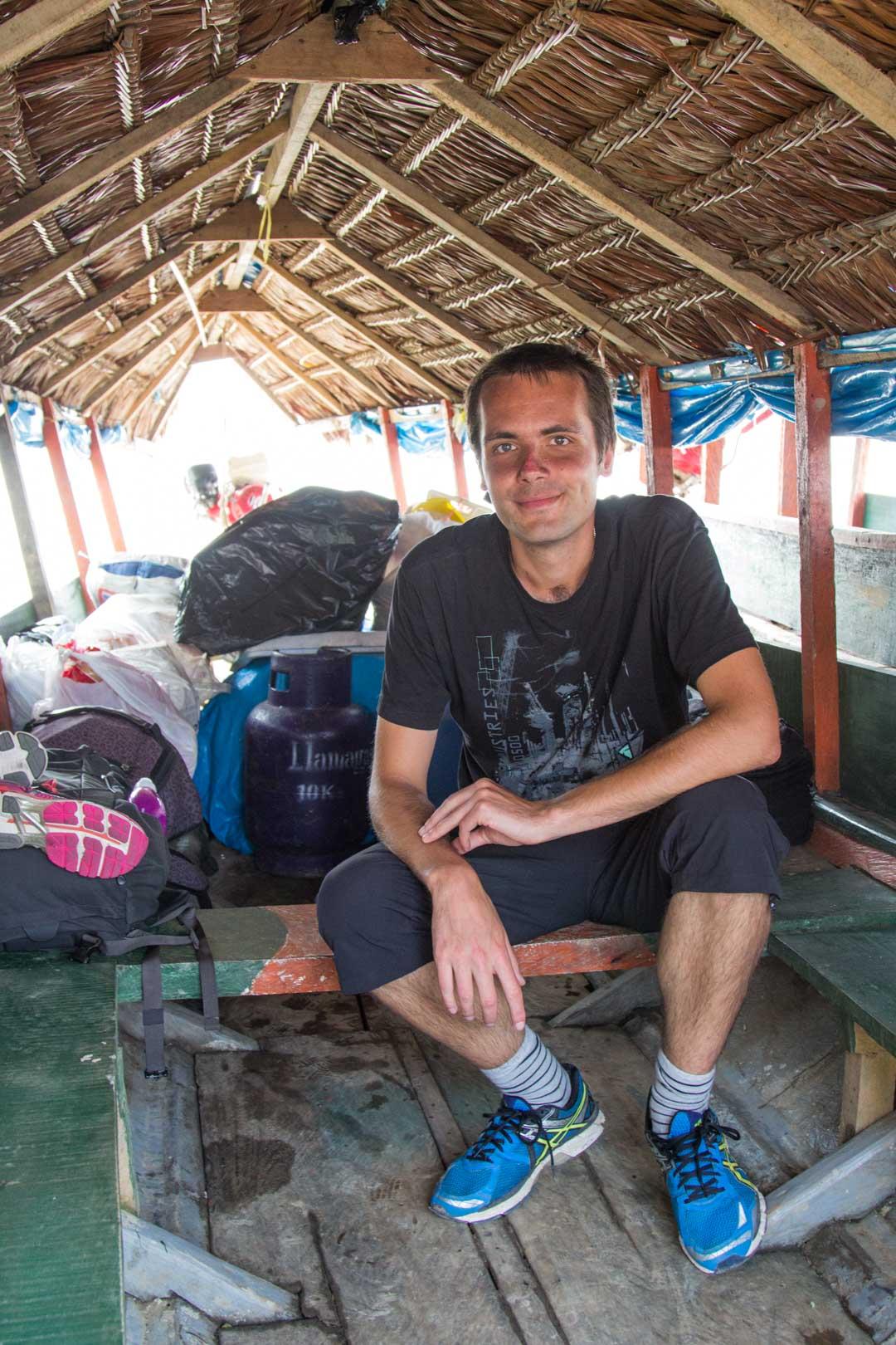 venekyyti Naudasta Amazonin viidakkoon
