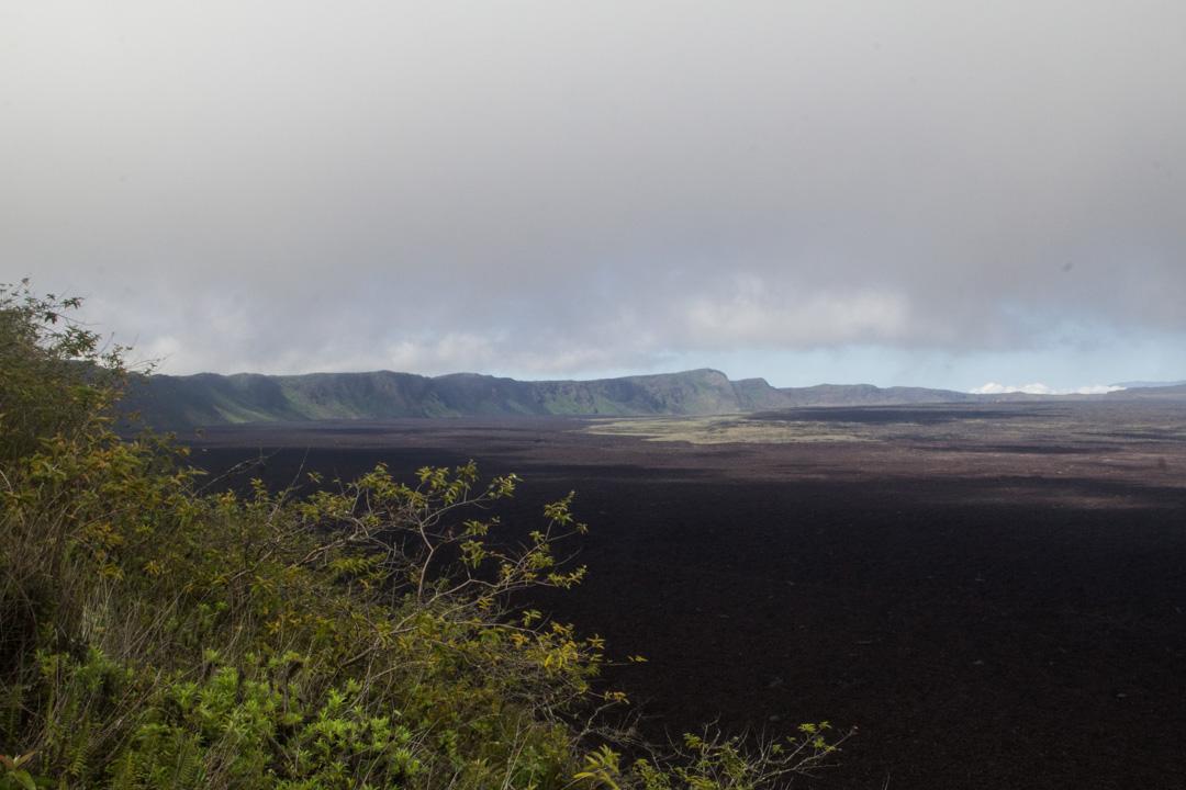 Sierra Negran kraatteri Isabela-saarella Galapagossaarilla