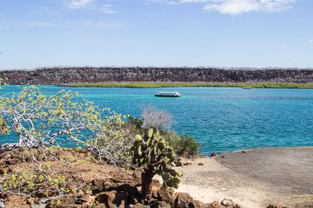 saapuminen Galapagossaarille