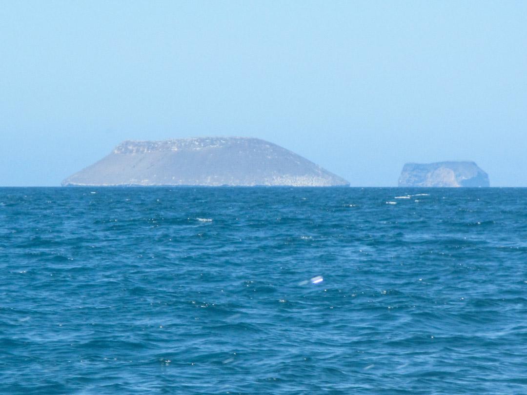 Daphne-saari Galapagossaarilla