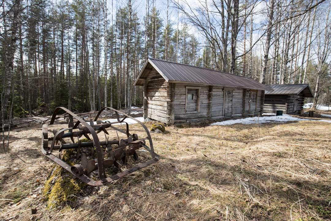 Torppa Pyhä-Häkin kansallispuistossa