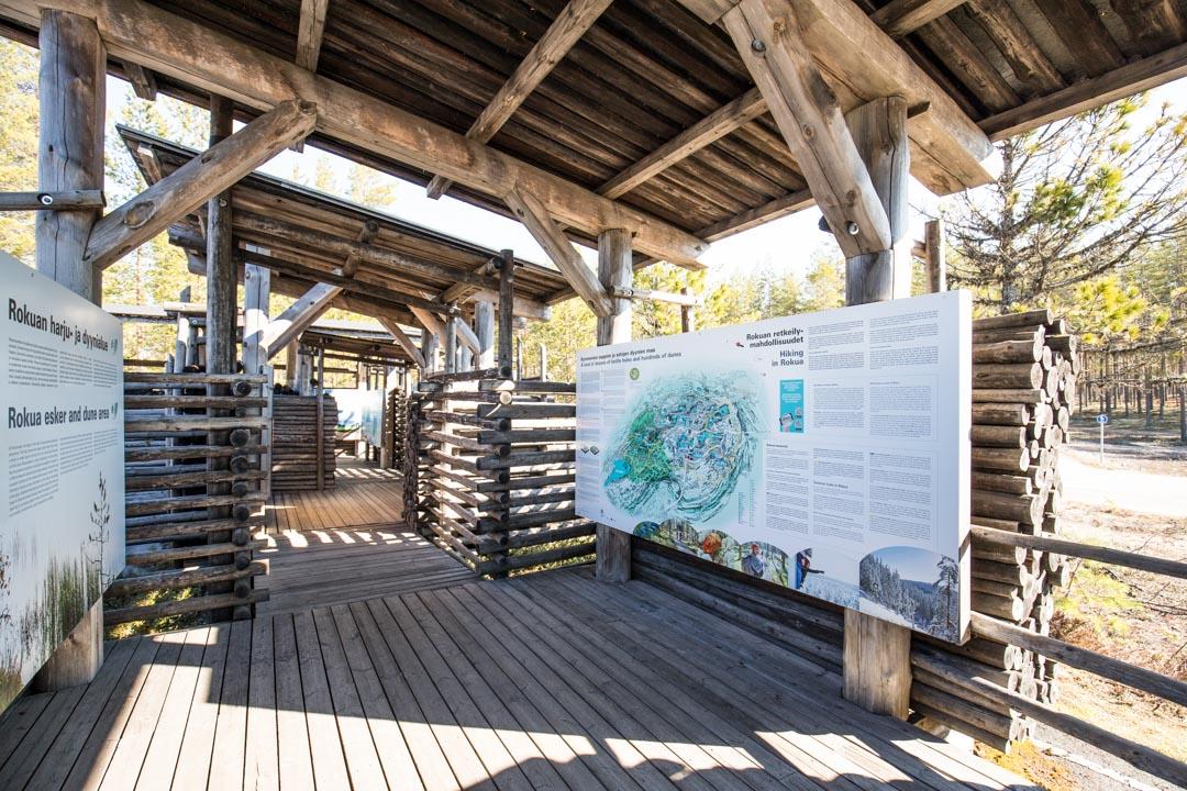 Rokuan kansallispuisto, eräkeskus Suppa