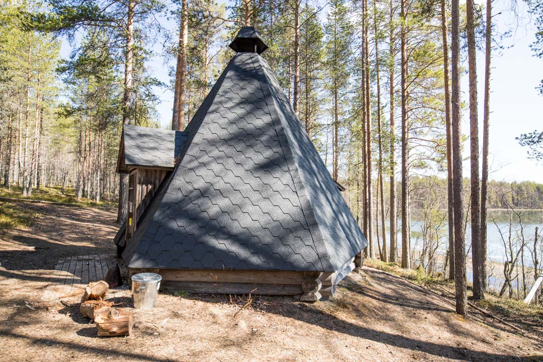Rokuanjärvi Rokuan kansallispuistossa