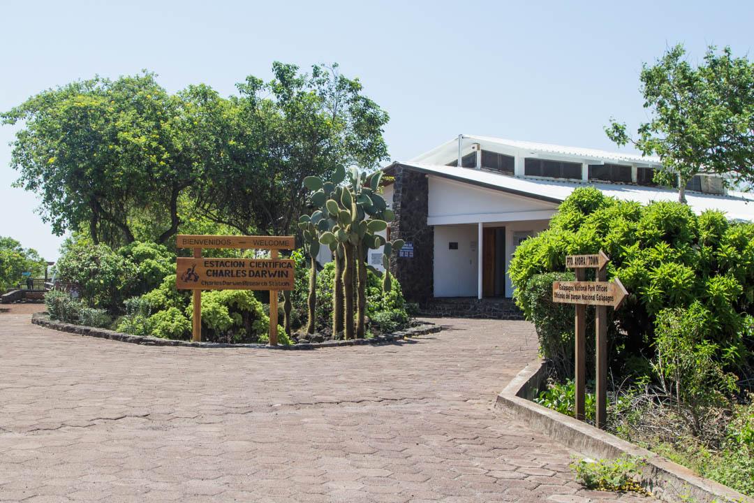 Darwin Research Station Santa Cruzin saarella Galapagossaarilla