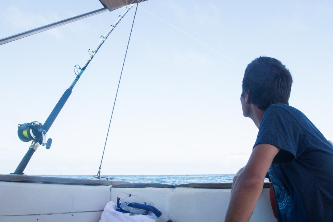 syvänmerenkalastusta Galapagossaarilla