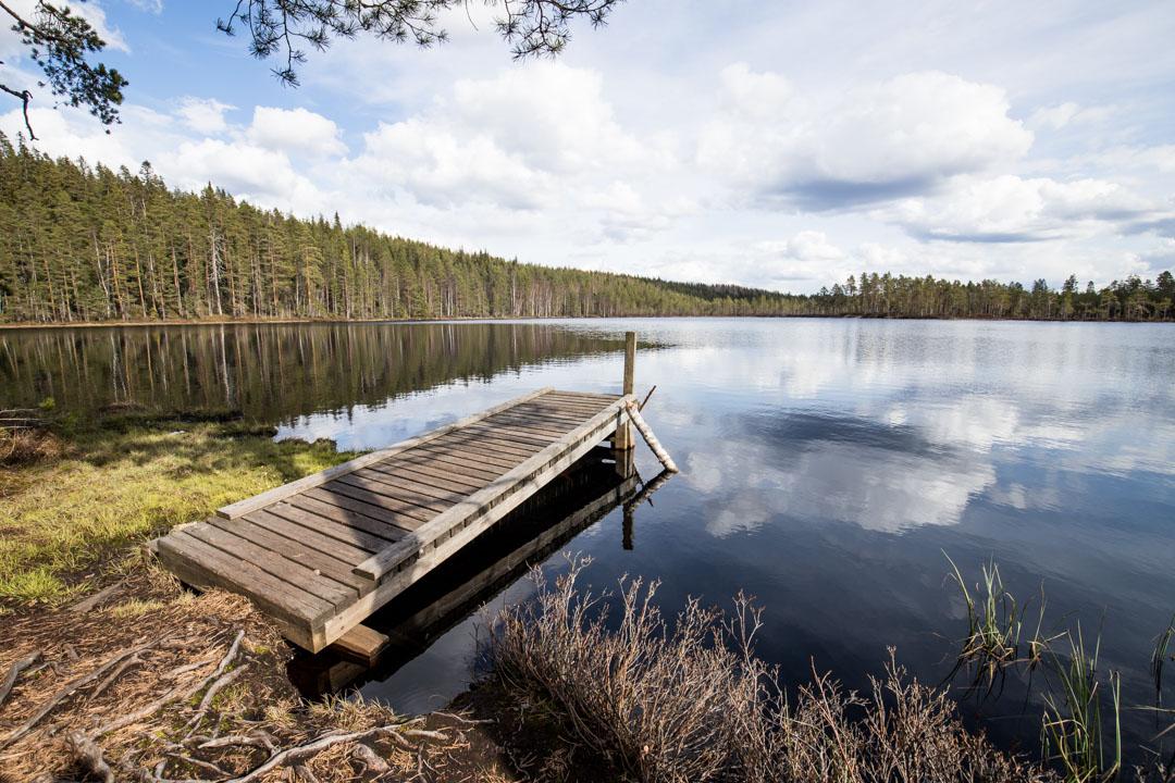 matkalla Haukan hiedalle Helvetinjärven kansallispuistossa