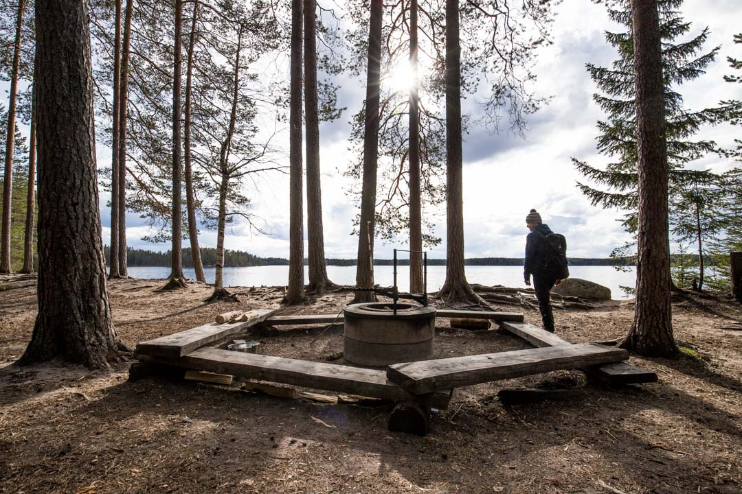 Haukan hieta Helvetinjärven kansallispuistssa