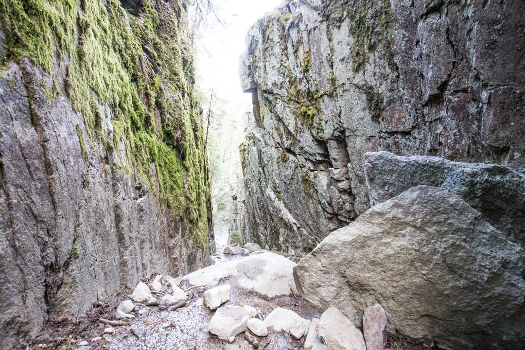 Helvetinkolu Helvetinjärven kansallispuistossa