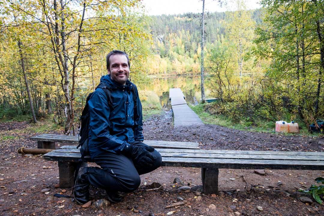 Kultahaminassa Lemmenjoen kansallispuistossa