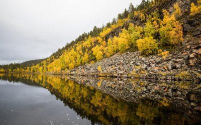Lemmenjoen kansallispuisto – Njurgulahdesta Kultahaminaan