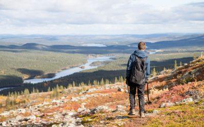 Lemmenjoen kansallispuisto – Joenkielisen kierros tarjosi upeita maisemia