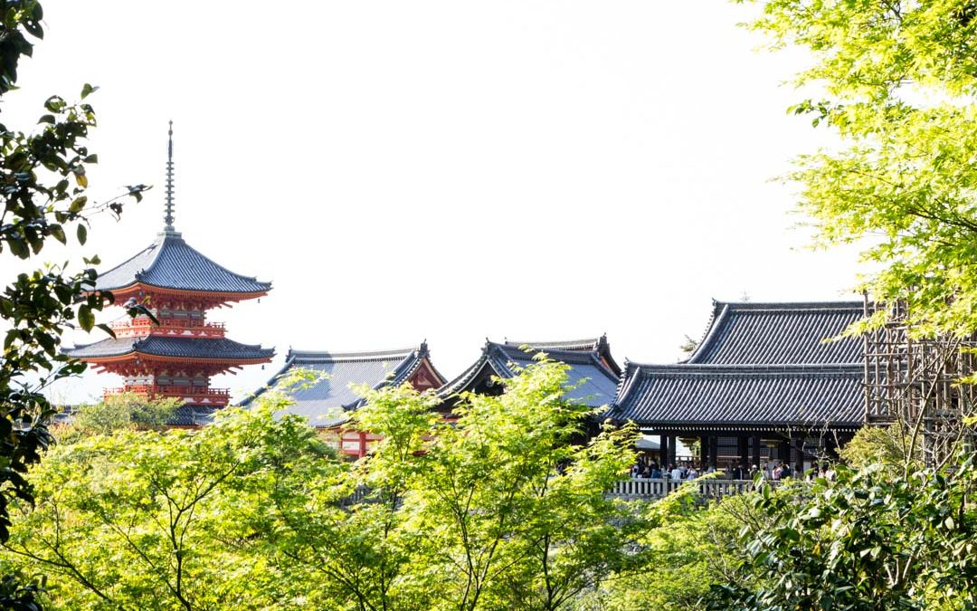 Kioto – ensikosketus Japaniin