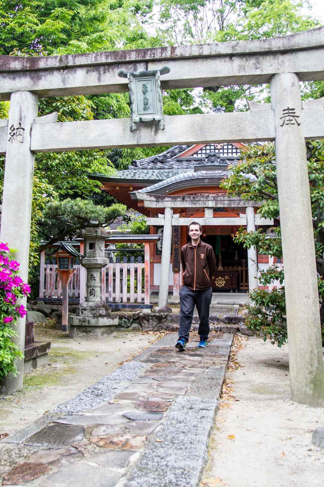 Sanjusangen-do temppeli Kiotossa Japanissa