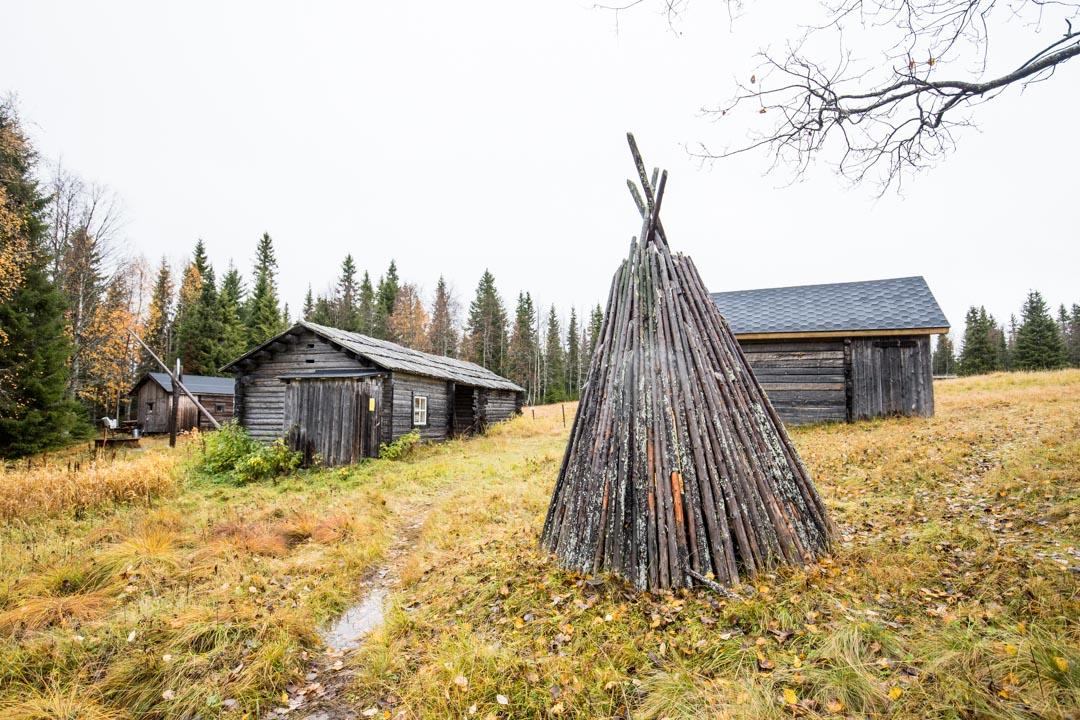 Rytivaaran torppa Syötteen kansallispuistossa Rytivaaran kierroksella