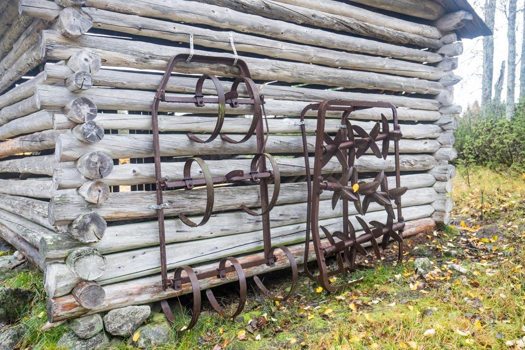 yksityiskohta Rytivaaran torpalta Syötteen kansallispuistossa Rytivaaran kierroksella