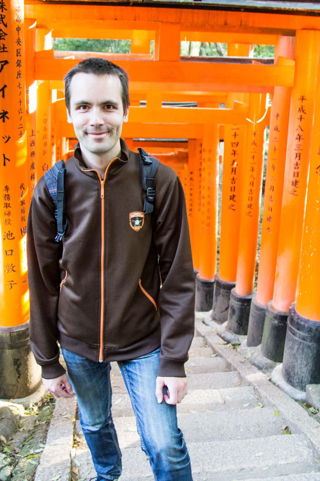 Inari pyhäkkö Kiotossa Japanissa