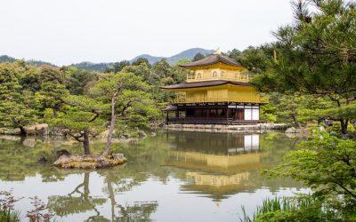Kioton kuuluisimmilla temppeleillä