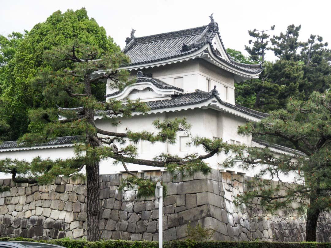 Nijo-jo linna Kiotossa Japanissa