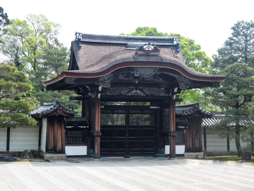 Ninna-ji temppeli Kiotossa Japanissa