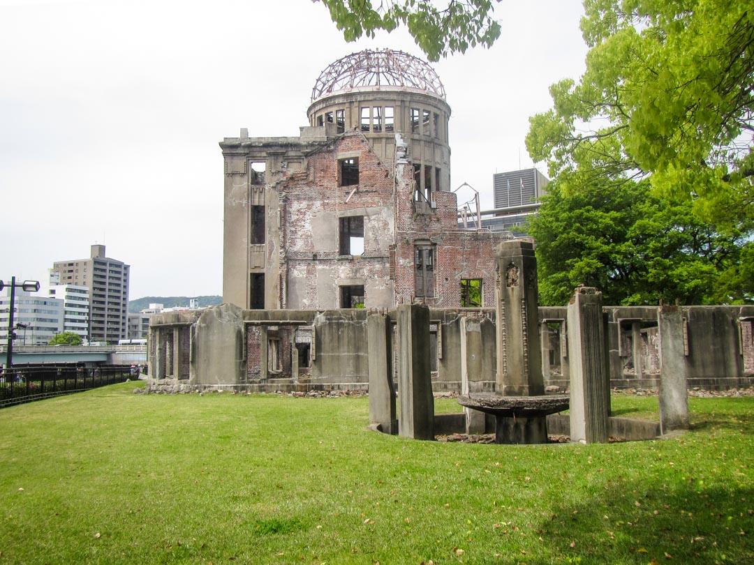 Hiroshima A-Bomb Dome Japanissa