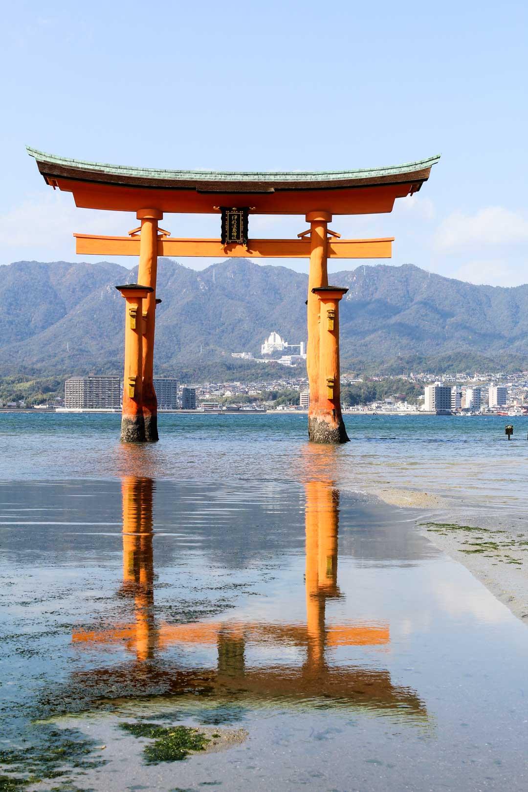 Miyajiman torii Japanissa