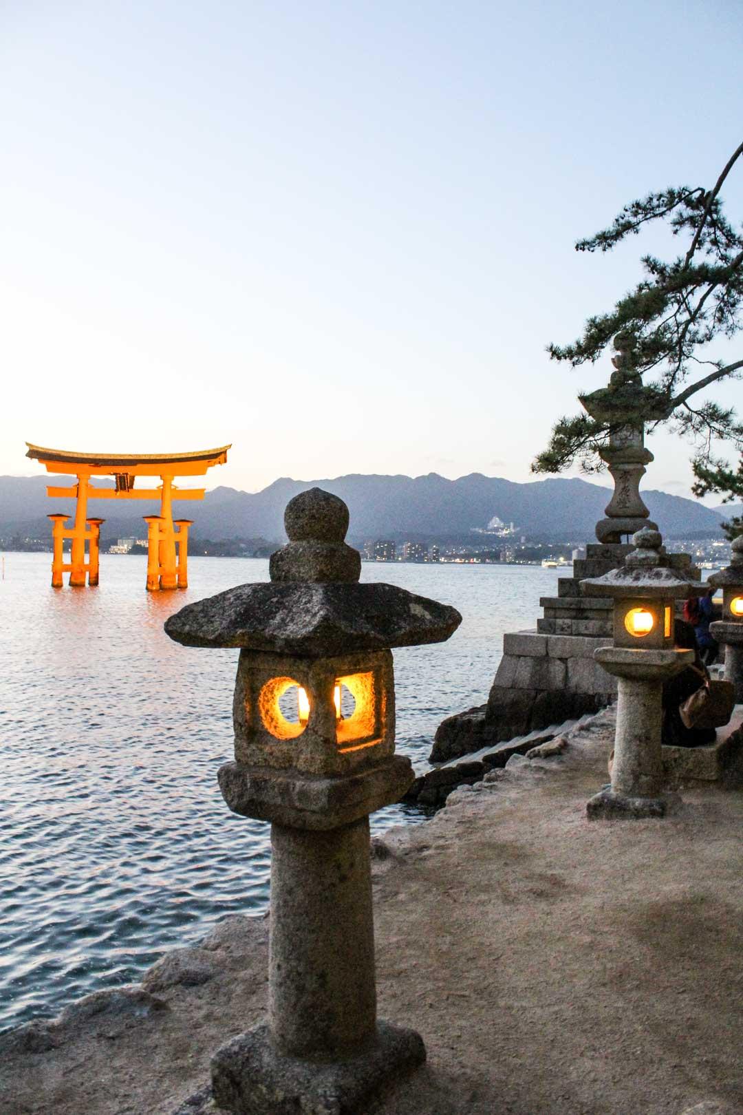 Miyajima Japani