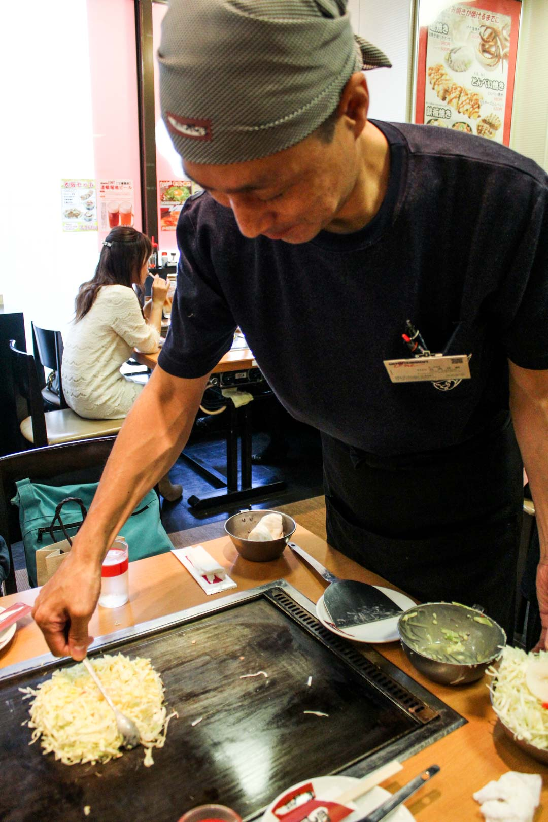 japanilainen ruoka okonomiyaki