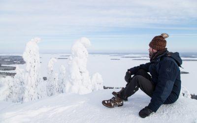 Kolin kansallispuisto talvella – Suomen eteläisin tykkylumi