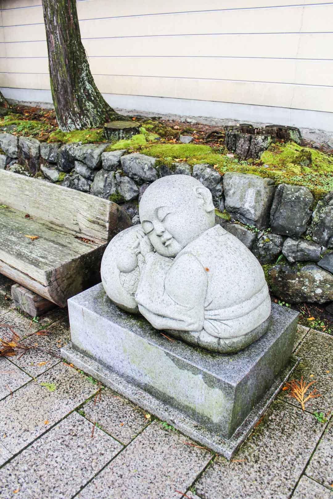buddhalaispatsas Koyasanissa Japanissa