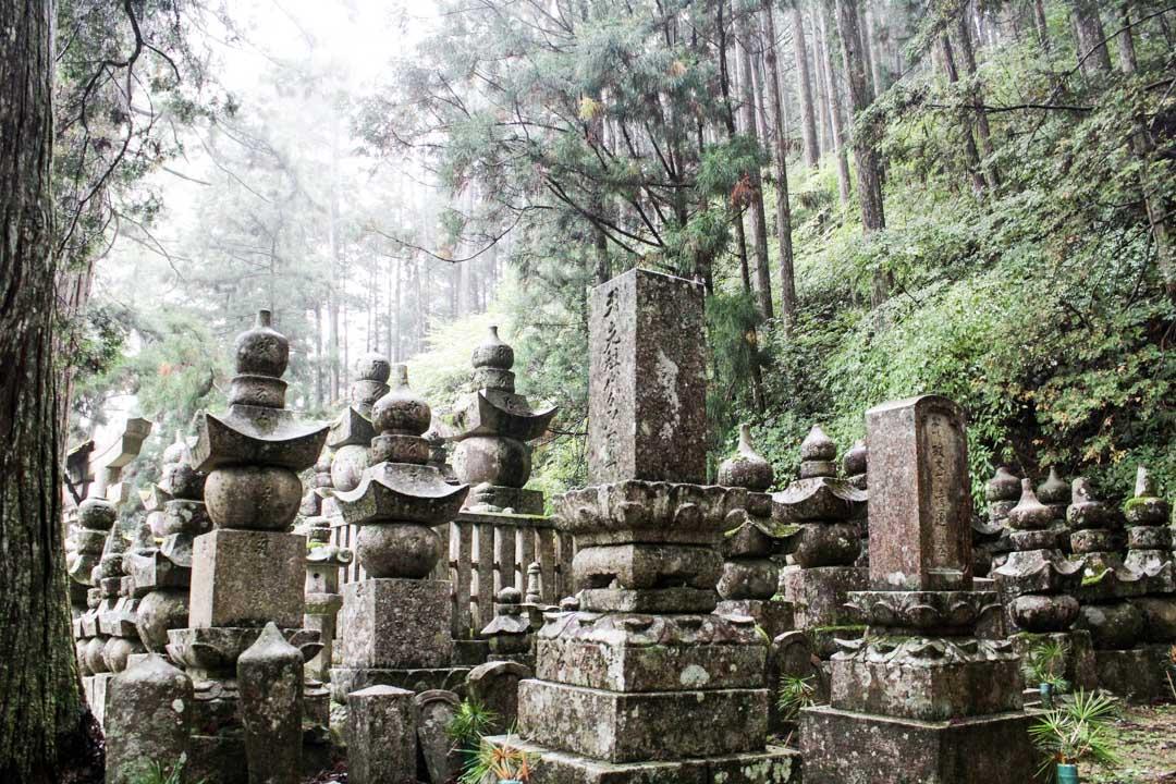 Japanin suurin hautausmaa, Koyasan Japani